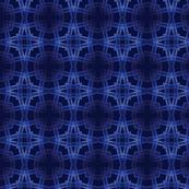 Royal Blue Geometric Woven Pattern
