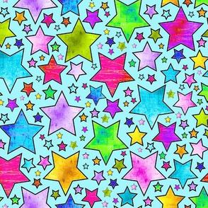 STARS ELECTRIC GRUNGE OCEAN