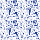 The Doctor: Smalescale Blue