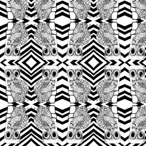 Olslenke- Mirrored Diagonal Stripes