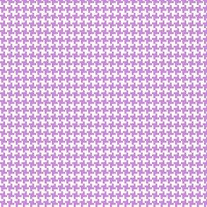 Houndstooth* (Lavender Disaster)