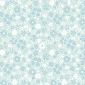 Blue Fairy Garden