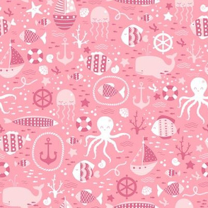 Girly Sea Life