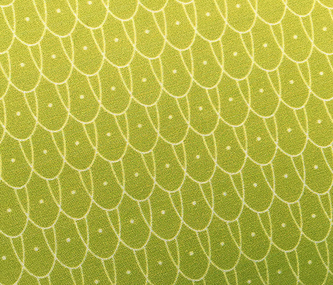 Flew the Coop* (Split Pea Soup) fabric - pennycandy - Spoonflower