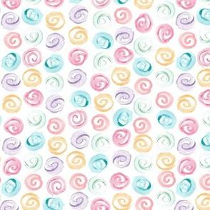 watercolor swirls