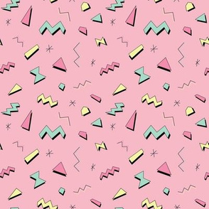 Bright abstract retro pattern