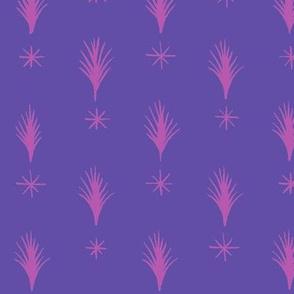 Spruce Stars Pink Purple