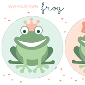 Sew your own frog