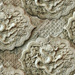stone dragons