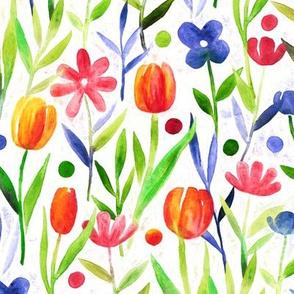 Dotty Delight Flower Fields large version