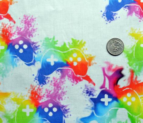 Rainbow Splatter Controllers