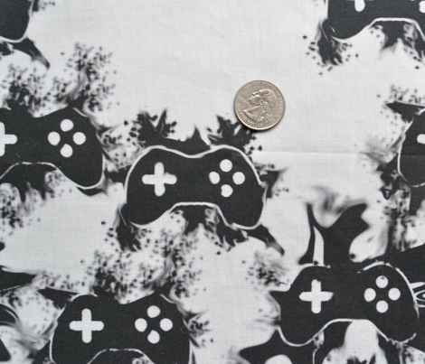 Controller Splatter in Black