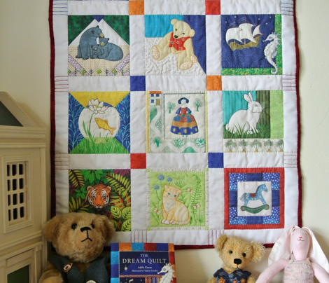 The Dream Quilt-panel with border