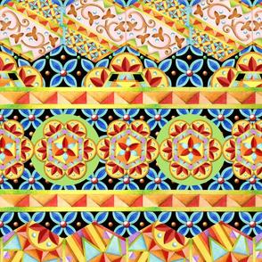 Gypsy Caravan Circus Stripe