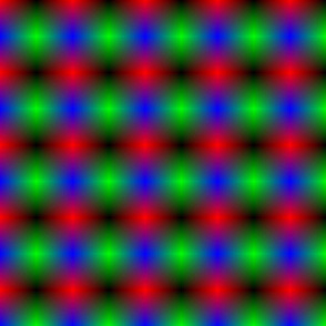 RGBY gradient stars