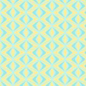 Geometric Puffin in Blue