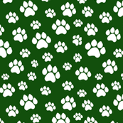 Doggie Paws - Green - Small