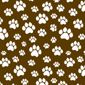 Doggie Paws - Brown - Small