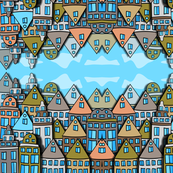 Scandinavian city