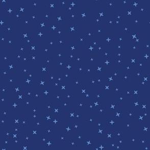 Baby Thrones - Blue Stars