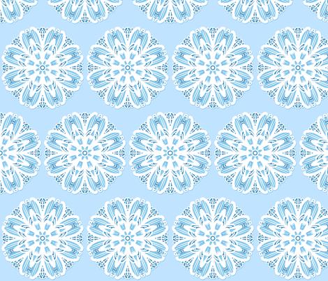Tile 32 Blue Border Coordinate