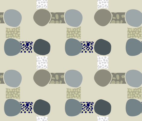 stepped stones
