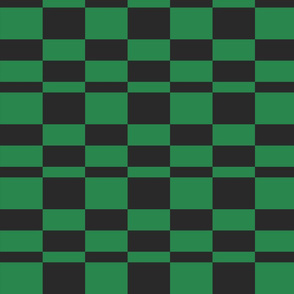 Fourth Doctor Green Checkerboard Lining