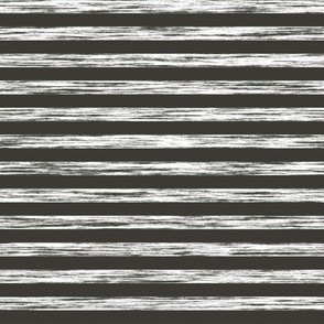 Stripes Grunge Pencil Charcoal  White & Black