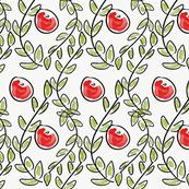 Christmas Leaf & Berry Design