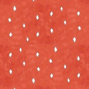 diamonds on red
