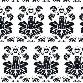 Royal Cats Reverse - BLACK
