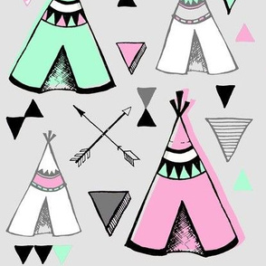 Teepee Town LARGE CANDY