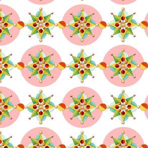 Pink Polka Dot Carousel