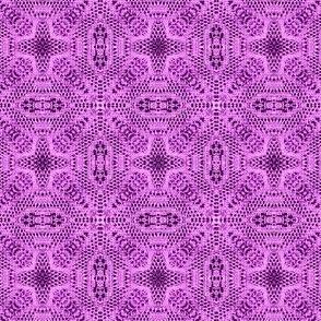 lavender magenta lace