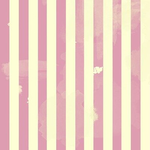 Retro Stripes in Pink