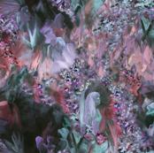 Dreamscape 2 - grey/pink/lavendar