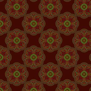 Persian ornament background