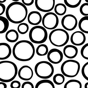 Black and White Bubbles