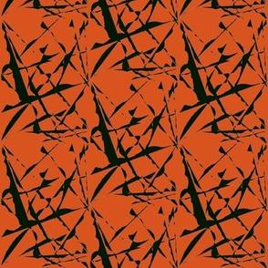 Wild Flight Over Burnt Orange Desert - Medium Scale