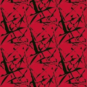 Wild Flight Over Poppy Red - Medium Scale
