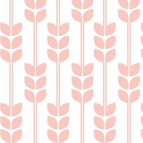 Wheat - Peach on White