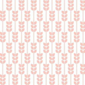 Wheat -Peach on White, Small