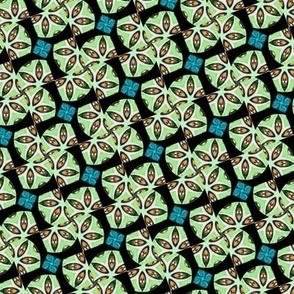 Cheshire Cats Kaleidoscope Circles Pinwheel Spinning Eyes