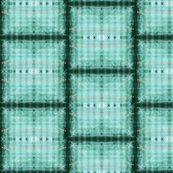 Teal Plaid Rememberance