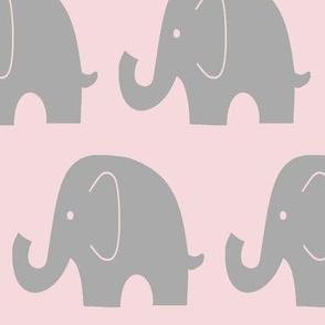 Jumbo_Elephant-Bella Pink &Grey