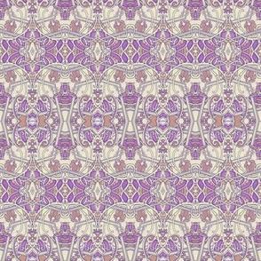 Lavender Scallop Victorian Style