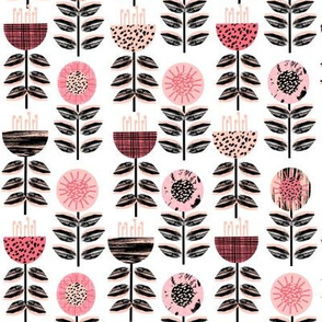 scandi flowers blooms florals flowers pink coral girls room girls bedding sweet girls flowers