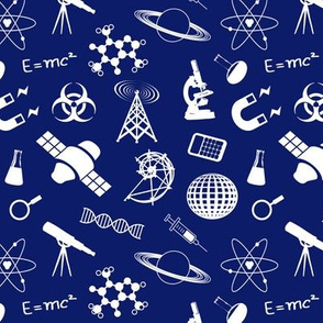 Science on  Dark Blue - Small