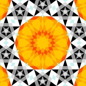 decagon star : a time-travelling rose