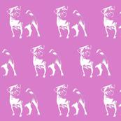 "Pug on Pink - Small (2"")"